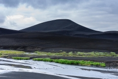 Black sand mountain, Iceland