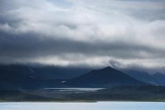 Dramatic Icelandic landscape