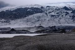 Icelandic Svinafellsjokull glacier