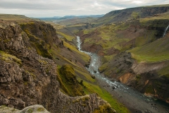Haifoss and Granni waterfalls area