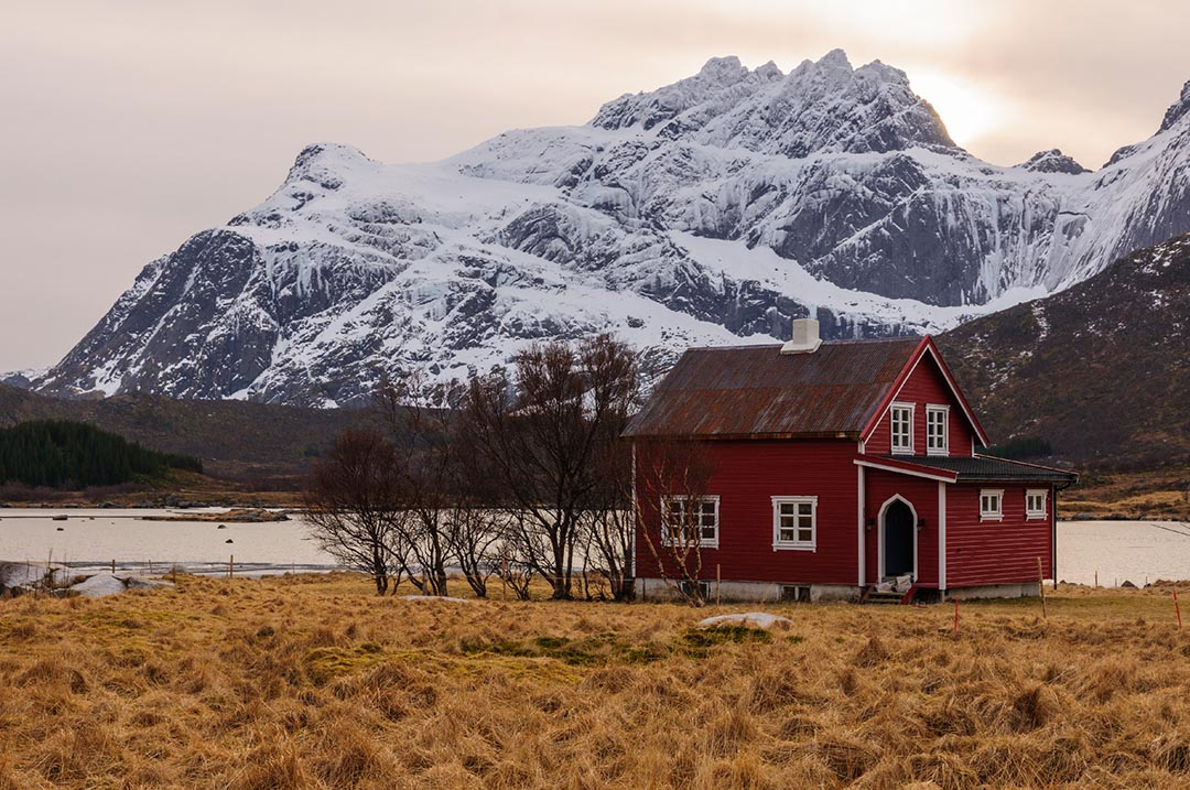 Lofoten islands, rorbu
