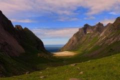 Horsaid beach, Lofoten Islands