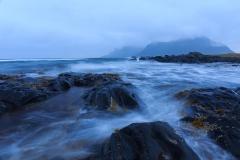 Lofoten, autumn storm