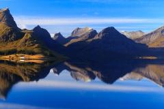 Fjords, Lofoten Norway