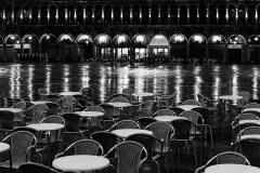 Venezia, Piazza San-Marco night cafe