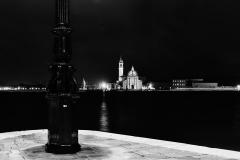 San Giorgio Maggiore, night look from Basilica di Santa Maria della Salute