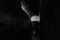 Venezia Ponte dei Sospiri, night view