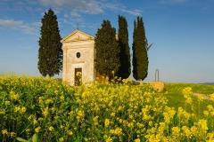 Cappella della Madonna di Vitaleta, Tuscan, Italy