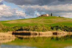 Landscape of the Val d'Orcia