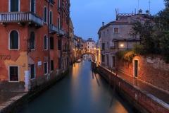 Venetian, rain in the late evening