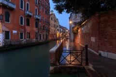 Venetian canals, last evening