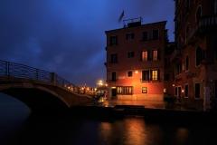Venezia, rain in the night