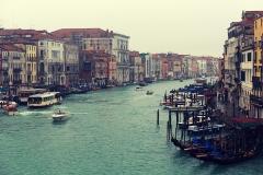 Venezia, Grand Canal, view from the Ponte di Rialto