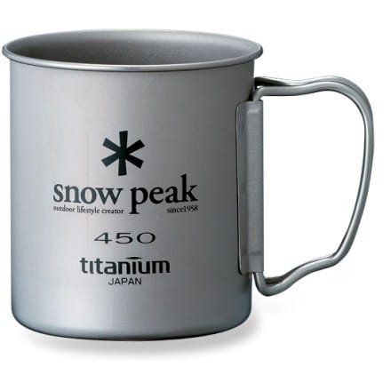 Snow Peak Titanium Single 450 Cup