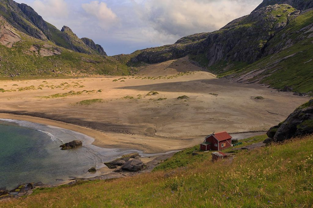 Lofoten, the Bunes Beach