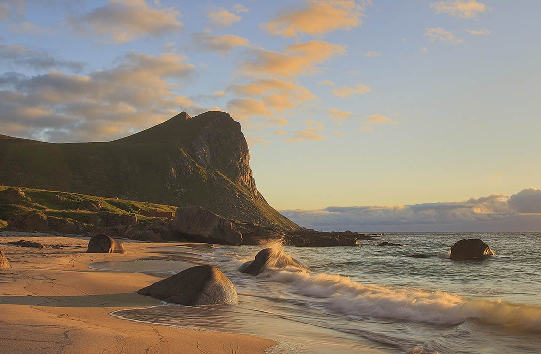 Myrland beach, Norway