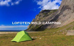 lofoten wild camping