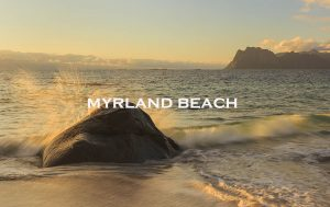 myrland beach, lofoten, norway
