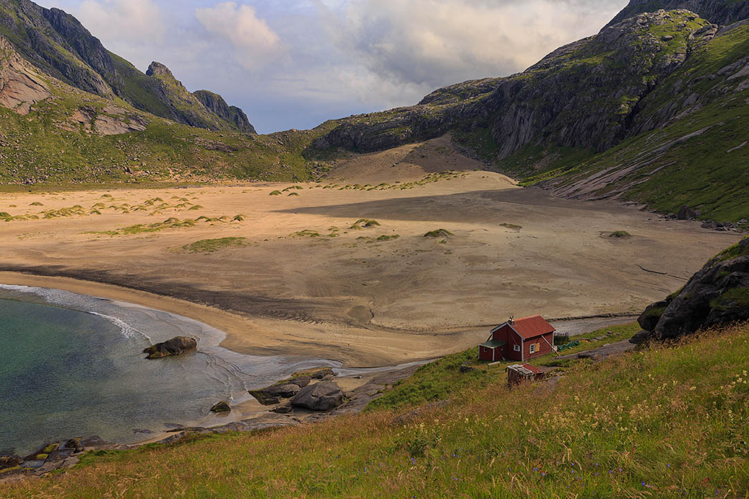 Bunes beach, Lofoten, Norway