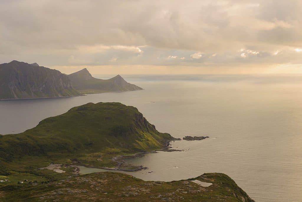Holandsmelen, Lofoten islands, Norway