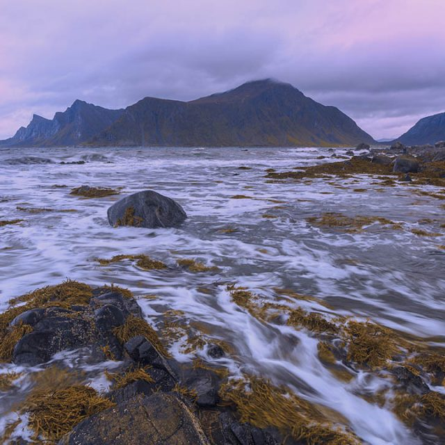 Ramberg beach, Lofoten islands, Norway