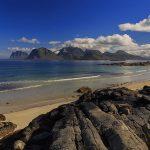 Storsandnes beach, Lofoten islands, Norway
