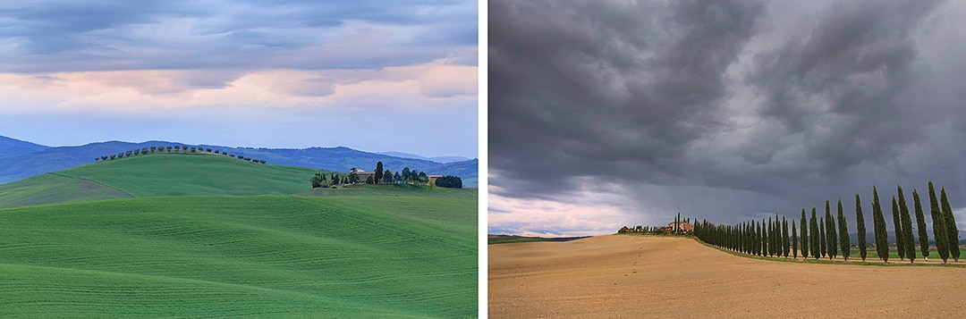Tuscany photo tour. Val d' Orcia.
