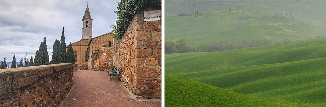 Tuscany photo tour. Pienza.