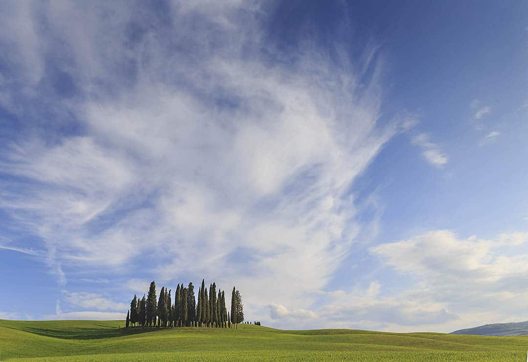 Tuscany photo tout. Val d'Orcia.