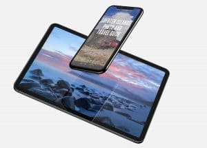 iPhone 11 Pro Max and iPad Pro Mockup by Anthony Boyd G