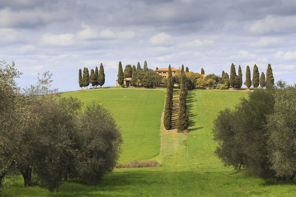Val d'Orcia. Gladiator House