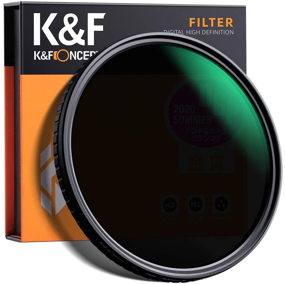 K&F Concept 77mm Fader ND