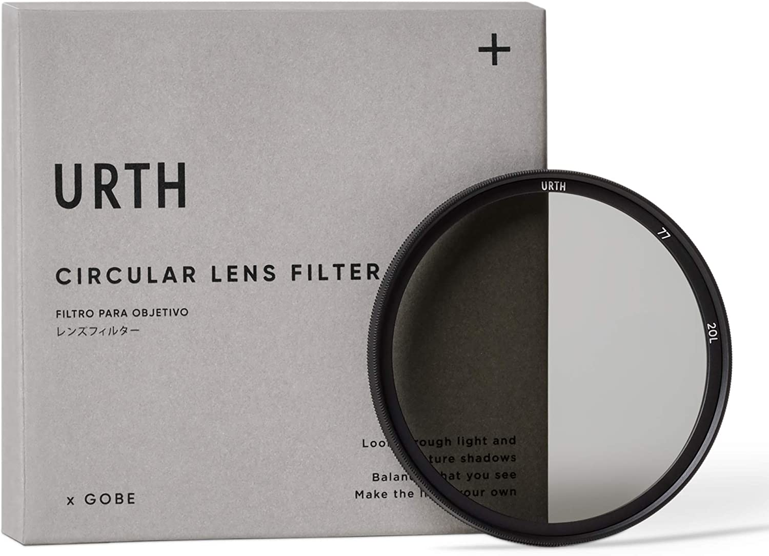 Urth x Gobe 77mm Circular Polarizing