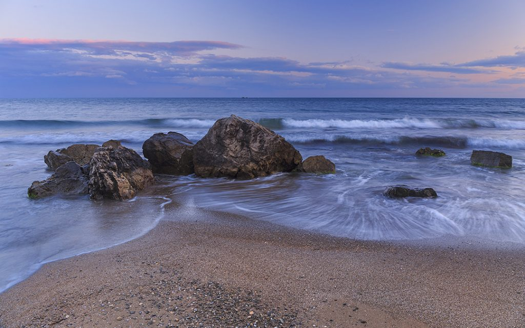 Using a tripod will allow you to get more creative with your shutter speeds. Canon 6D 24mm, f/11, 1/2 sec, ISO-100
